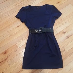 Simple, but Classy Navy Dress
